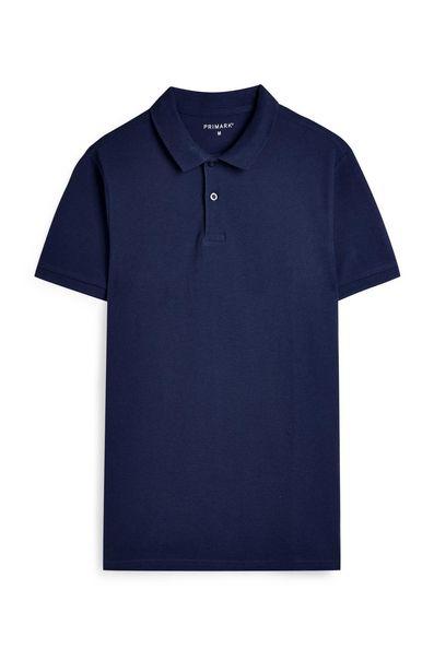 Oferta de Polo azul marino de manga corta por 3,5€