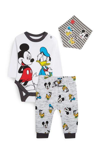 Oferta de Conjunto de 3 piezas de Mickey Mouse y el pato Donald por 10€