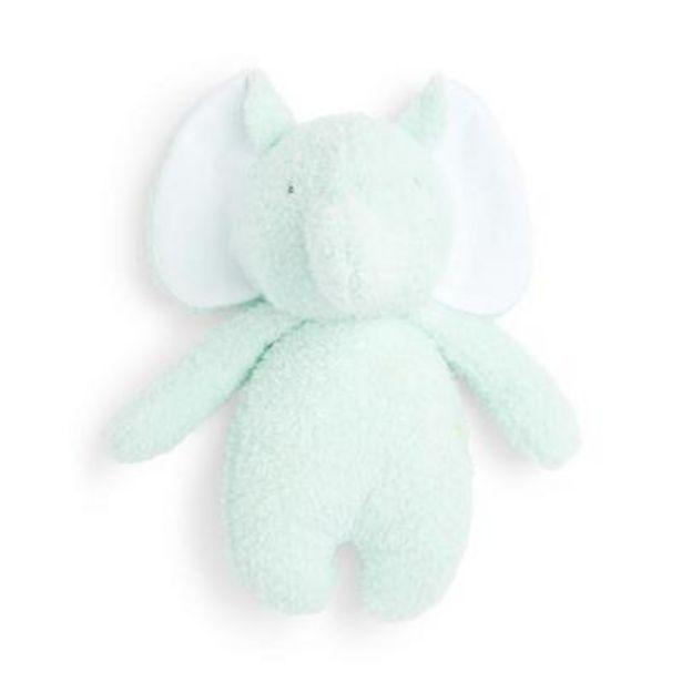 Oferta de Peluche pequeño azul de elefante por 2,5€