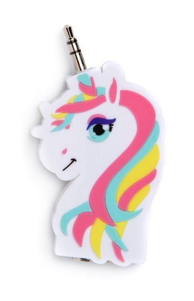 Oferta de Bifurcador de auriculares de unicornio por 3€