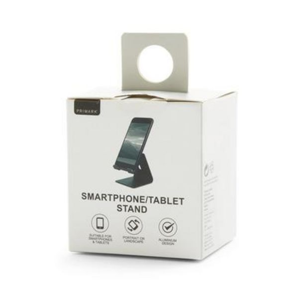 Oferta de Soporte negro para tableta y teléfono por 4€