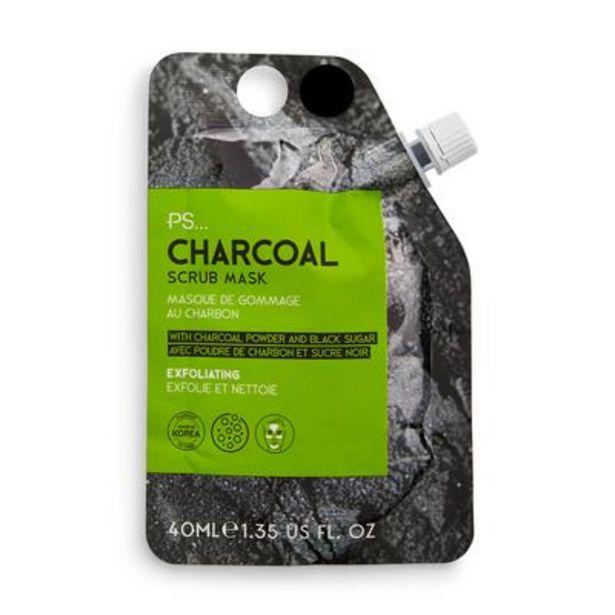 Oferta de Mascarilla facial exfoliante de carbón de PS por 2,5€