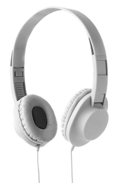 Oferta de Cascos blancos sonido estéreo por 6€