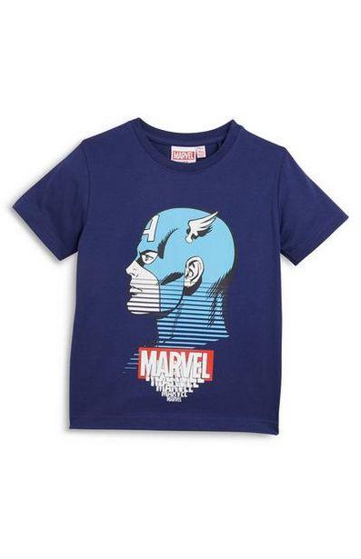 Oferta de Camiseta azul marino de Marvel para niño pequeño por 450€