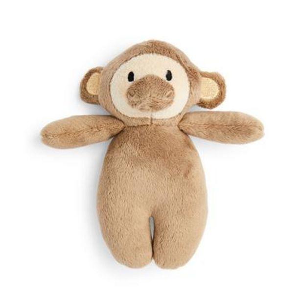 Oferta de Peluche pequeño de mono por 2,5€