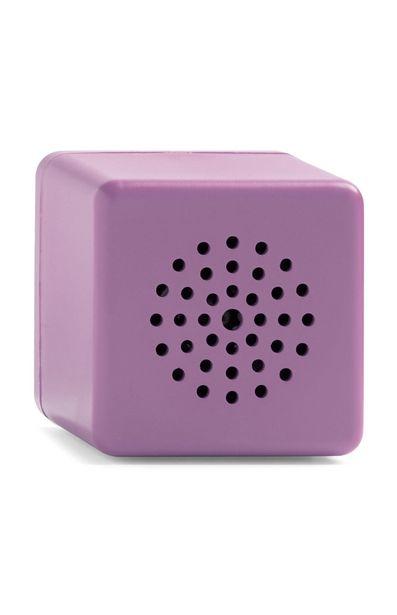 Oferta de Minialtavoz inalámbrico morado en forma de cubo por 7€