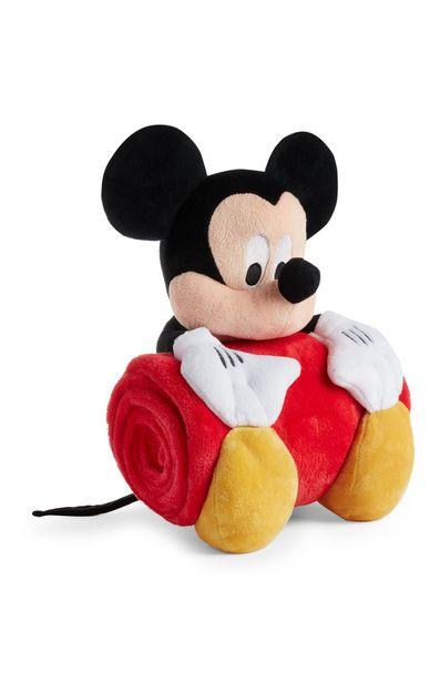 Oferta de Peluche de Mickey Mouse con manta roja por 14€