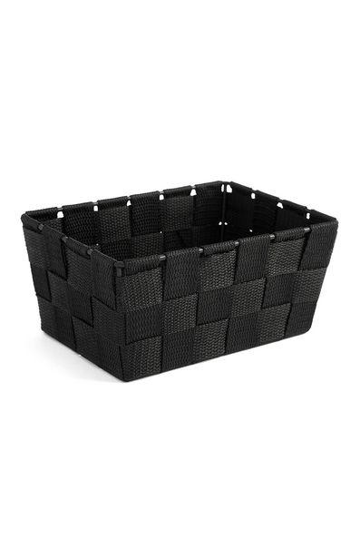 Oferta de Caja tejida negra por 3€