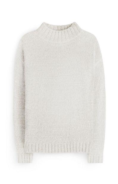 Oferta de Jersey de pelo blanco por 12€