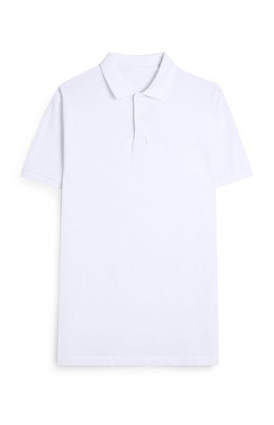 Oferta de Polo blanco de manga corta por 3,5€