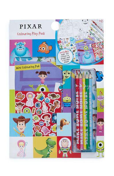 Oferta de Pack con juego de colorear de Pixar por 2,5€