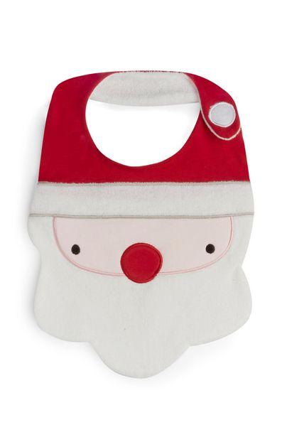 Oferta de Babero rojo de Papá Noel para recién nacido por 2€