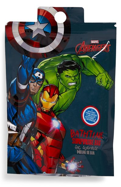 Oferta de Bolsa sorpresa de baño de Marvel por 3€
