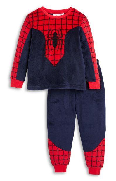 Oferta de Pijama de Spiderman de borreguillo sintético para niño pequeño por 10€