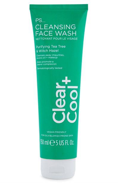 Oferta de Limpiador facial Clear and Cool de PS con efecto refrescante por 2,5€