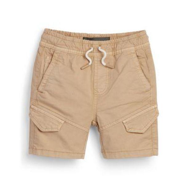 Oferta de Pantalón corto cargo beige para niño pequeño por 11€