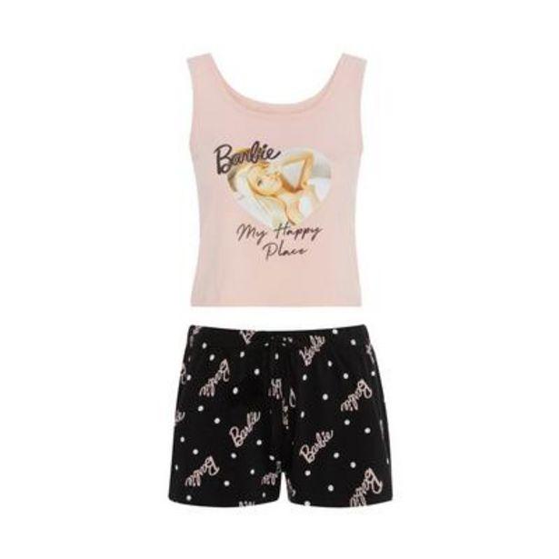 Oferta de Pijama corto rosa de Barbie por 8€