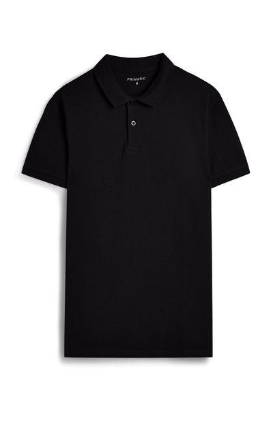 Oferta de Polo negro de manga corta por 4€