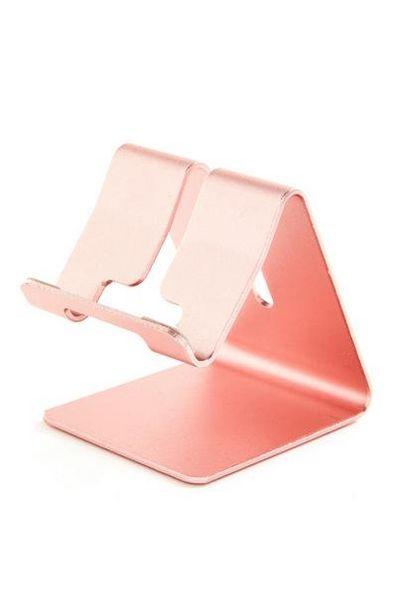 Oferta de Soporte para tableta rosa para trabajar desde casa por 4€