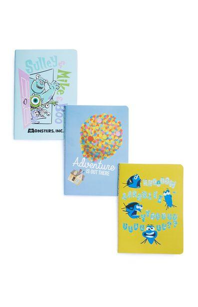 Oferta de Pack de 3 cuadernos de Pixar por 2,5€