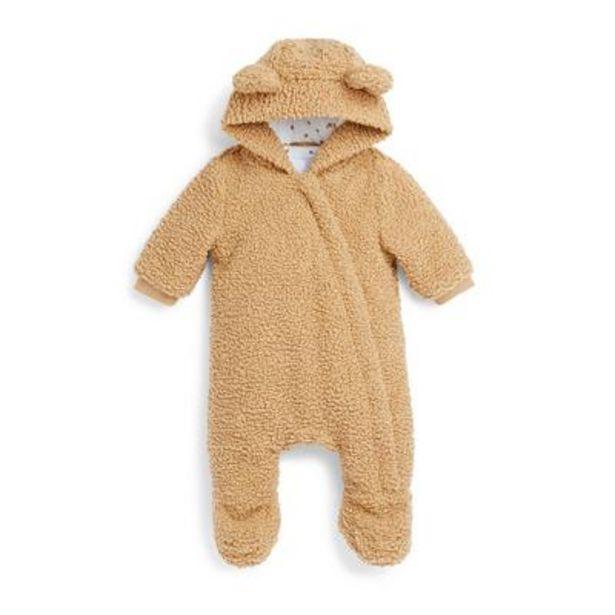 Oferta de Mono de pelo sintético marrón para recién nacido por 18€