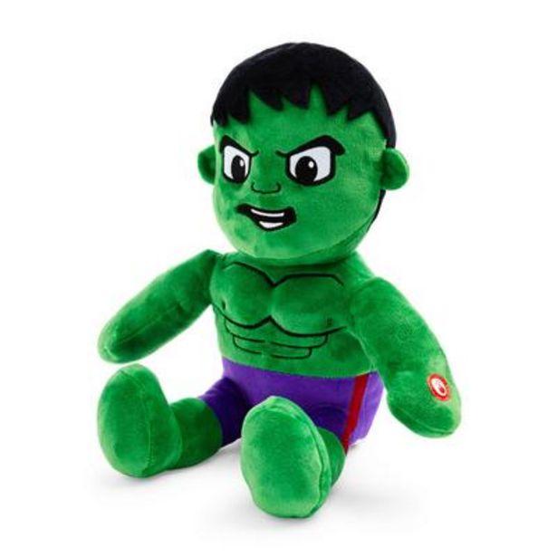 Oferta de Peluche grande de The Hulk de Marvel por 12€