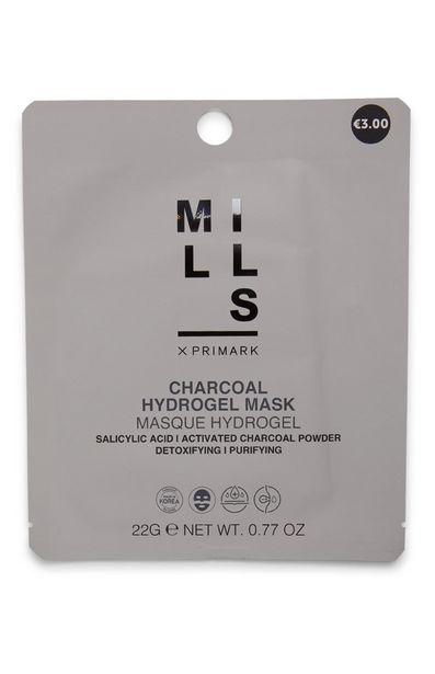 Oferta de Mascarilla facial de hidrogel y carbón Joe Mills por 2,5€