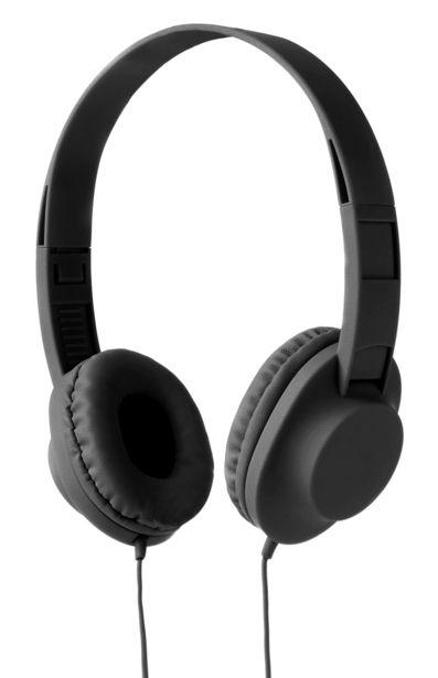 Oferta de Cascos negros sonido estéreo por 6€