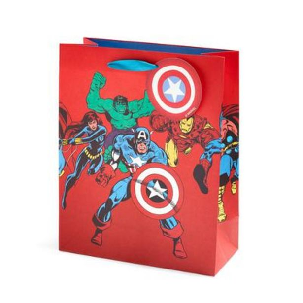 Oferta de Bolsa de regalo roja de Marvel por 2€