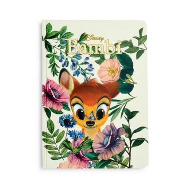 Oferta de Cuaderno B5 de Bambi de Disney por 3,5€