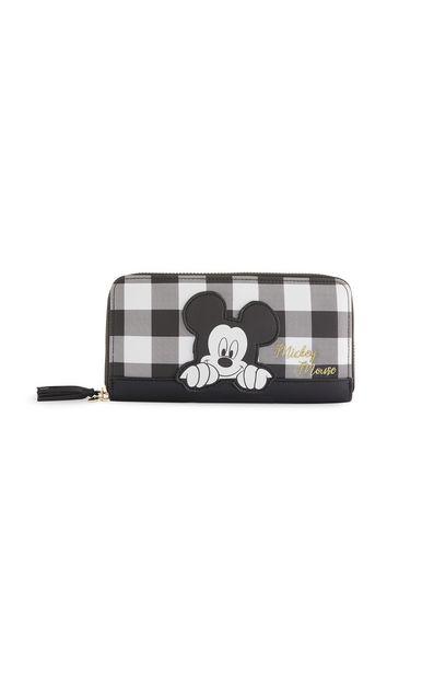 Oferta de Cartera blanca y negra a cuadros de Mickey Mouse por 8€