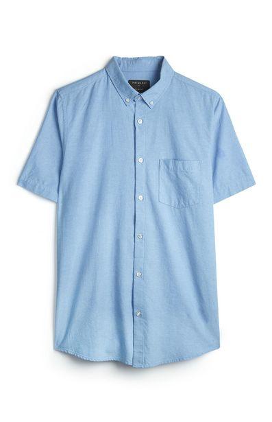 Oferta de Camisa Oxford azul por 10€