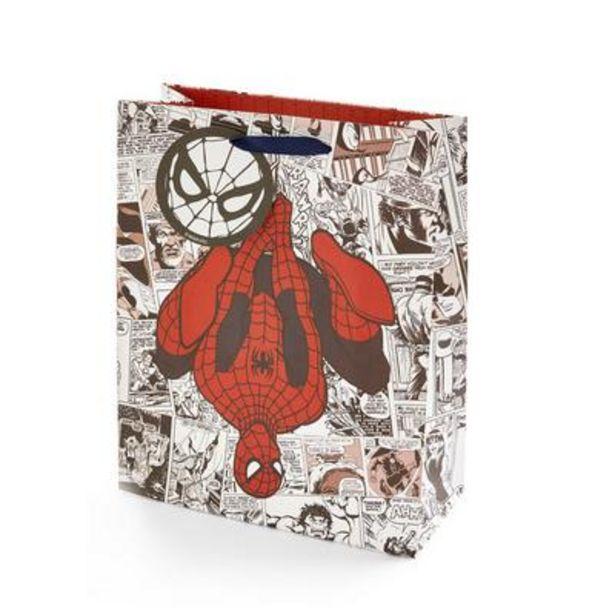 Oferta de Bolsa de regalo con estampado de cómic de Spiderman por 2€