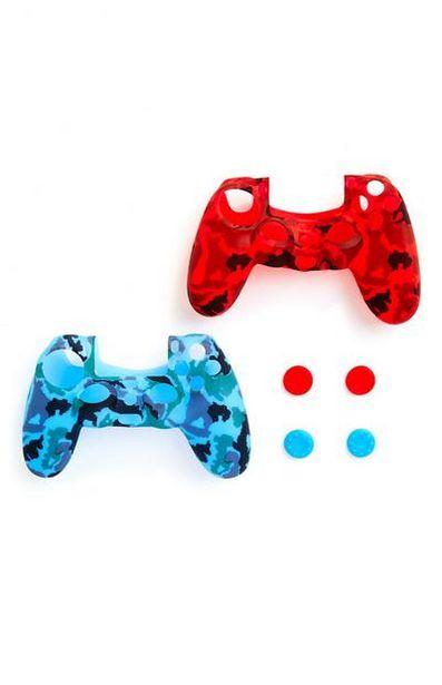 Oferta de Juego de 2 fundas para mandos de PlayStation por 7€