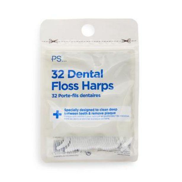 Oferta de Pack de 32 arcos con hilo dental de PS por 1€