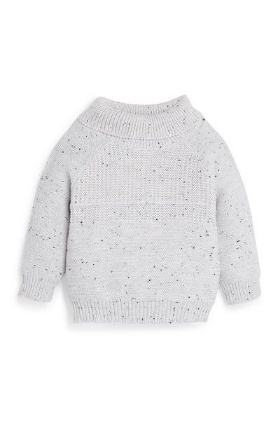 Oferta de Jersey de cuello vuelto de algodón para bebé niño por 8€