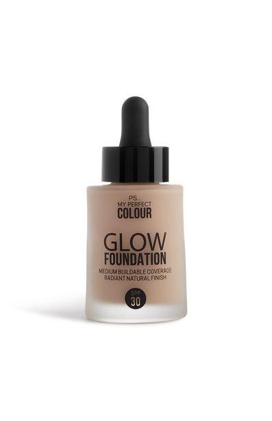 Oferta de Base de maquillaje Glow color Nude Beige por 6€