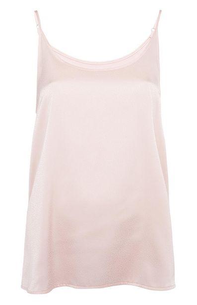 Oferta de Camiseta de tirantes rosa claro por 6€