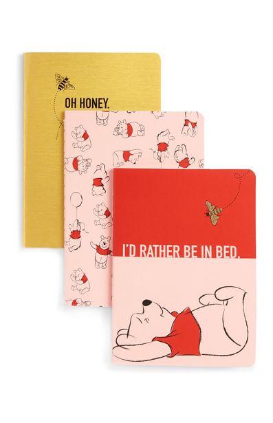 Oferta de Pack de 3 cuadernos de Winnie The Pooh por 2,5€