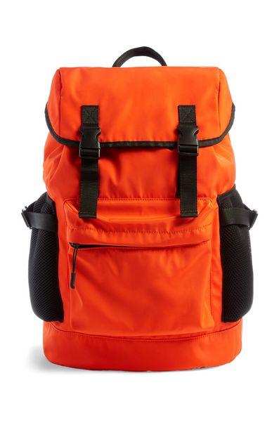 Oferta de Mochila naranja brillante por 20€