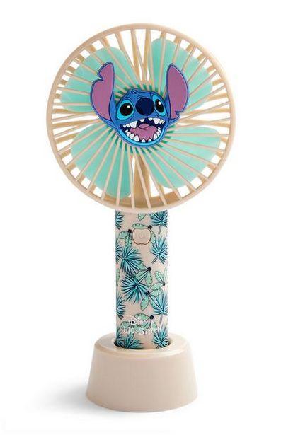 Oferta de Ventilador de mano con motivos hawaianos de Lilo y Stitch de Disney por 7€