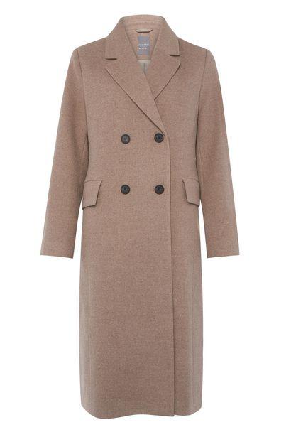 Oferta de Abrigo elegante largo beige por 45€