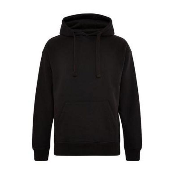 Oferta de Sudadera negra con capucha Elevated Essentials por 20€