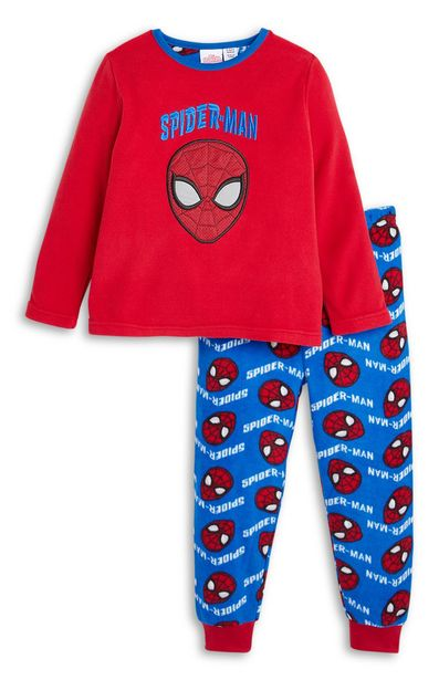Oferta de Pijama de borreguillo sintético de Spiderman para niño pequeño por 10€