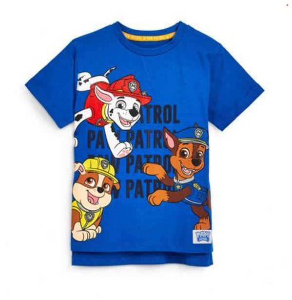 Oferta de Camiseta azul de La Patrulla Canina para niño pequeño por 7€