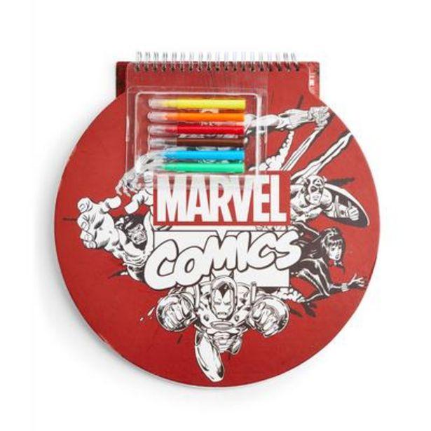 Oferta de Cuaderno para dibujar de Marvel por 6€