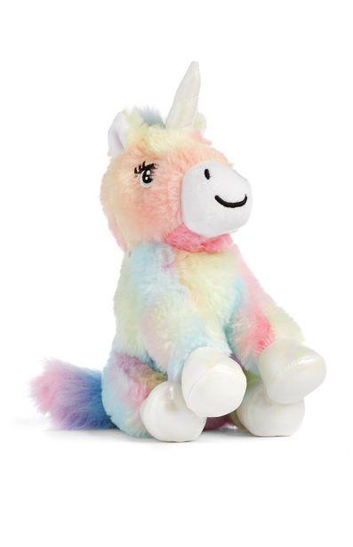 Oferta de Unicornio de felpa multicolor por 4€