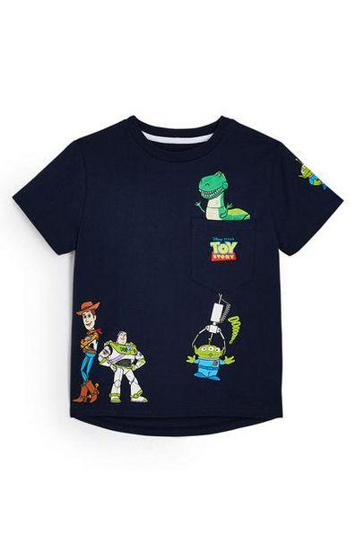 Oferta de Camiseta azul marino de Toy Story para niño pequeño por 7€