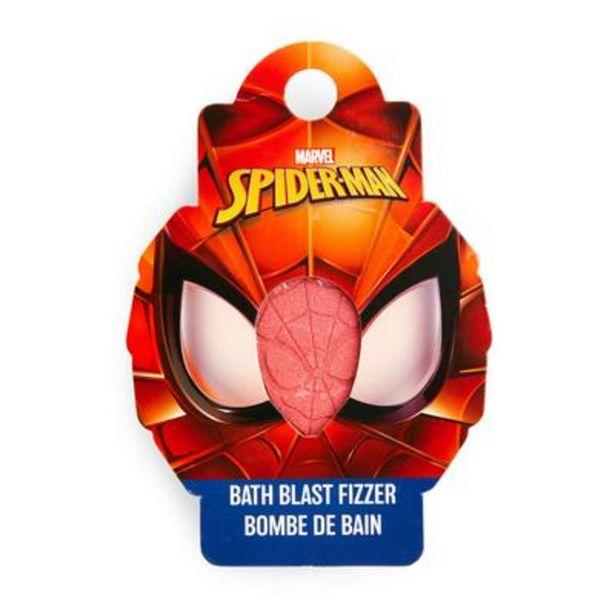 Oferta de Bomba de baño roja de Spiderman por 1,5€