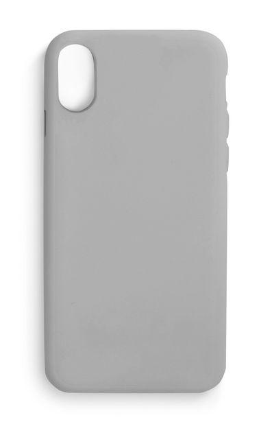 Oferta de Carcasa lisa para el móvil gris por 3,5€